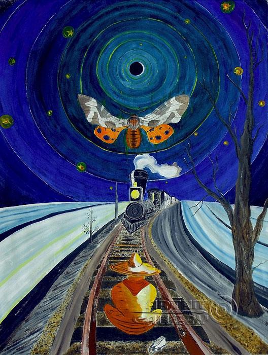 ''Неизбежность''.  Белов Антон. Продажа картин, предметов декоративно-прикладного искусства