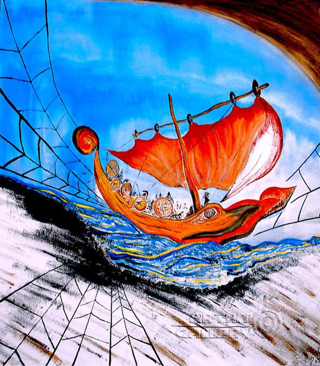''Ахейцы''.  Белов Антон. Продажа картин, предметов декоративно-прикладного искусства