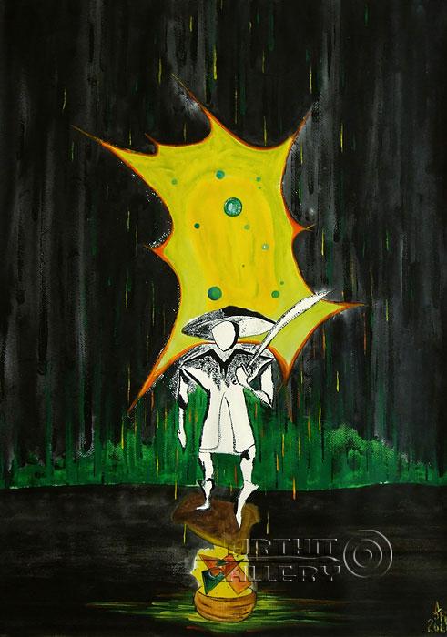 ''Разрывающий пространство''.  Белов Антон. Продажа картин, предметов декоративно-прикладного искусства