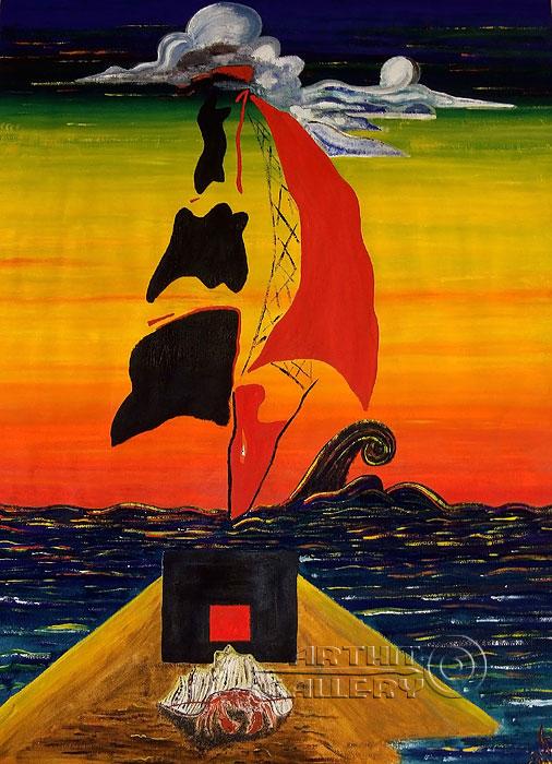 ''Корабль''.  Белов Антон. Продажа картин, предметов декоративно-прикладного искусства