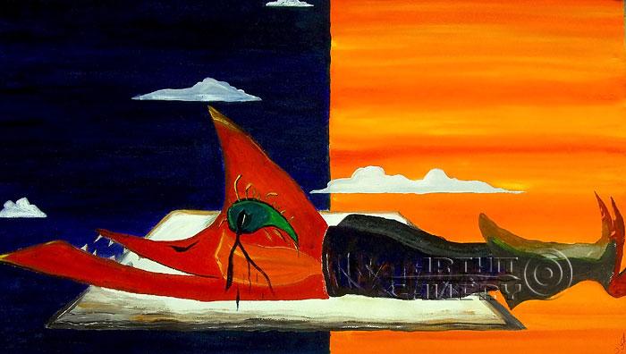 ''Инь и Ян''.  Белов Антон. Продажа картин, предметов декоративно-прикладного искусства