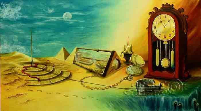 ''Неуловимы времени шаги''.  Васильева Ирина. Продажа картин, предметов декоративно-прикладного искусства