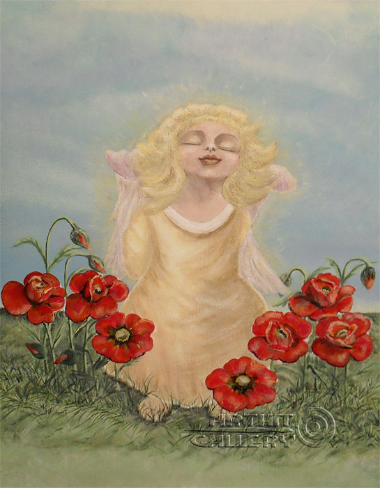 ''Прикосновение''.  Анашкина Светлана. Продажа картин, предметов декоративно-прикладного искусства