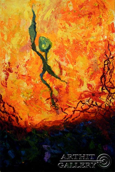 ''Оптимист''.  Дегтярева (Тарасова) Евгения. Продажа картин, предметов декоративно-прикладного искусства
