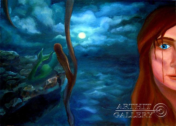 ''Третий взгляд''.  Дегтярева (Тарасова) Евгения. Продажа картин, предметов декоративно-прикладного искусства