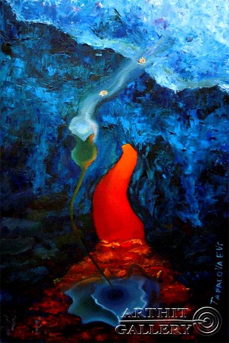 ''Тихий зов''.  Дегтярева (Тарасова) Евгения. Продажа картин, предметов декоративно-прикладного искусства