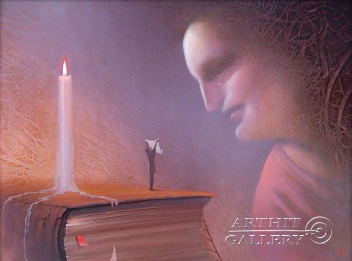 ''Хранитель Евангелия от Филиппа''.  Брегеда Виктор. Продажа картин, предметов декоративно-прикладного искусства