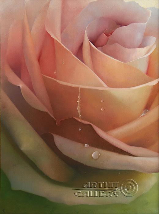 ''Роза''.  Брегеда Виктор. Продажа картин, предметов декоративно-прикладного искусства