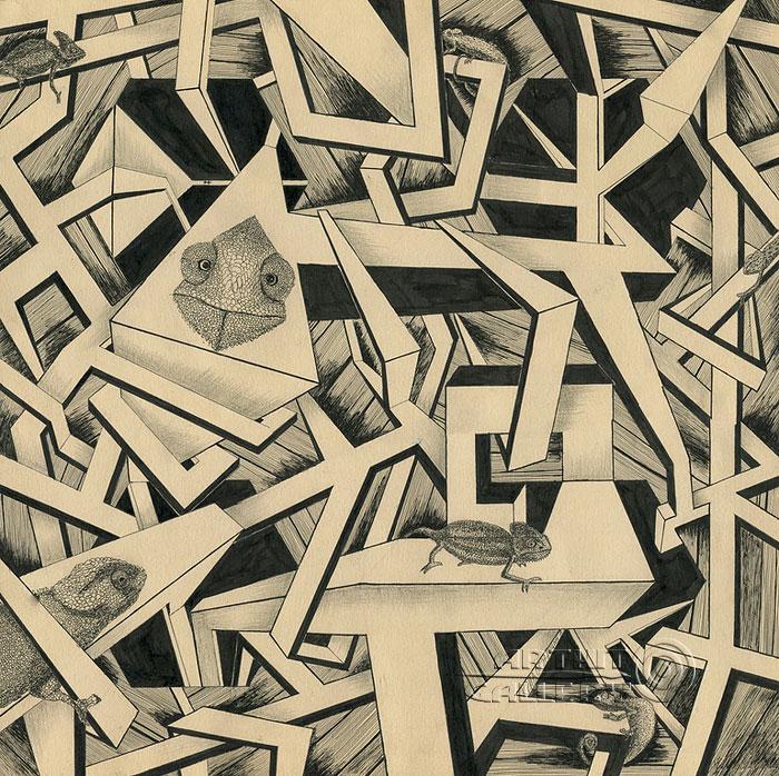''Cостояние расширенного сознания''.  Кривогорницын Андрей. Продажа картин, предметов декоративно-прикладного искусства