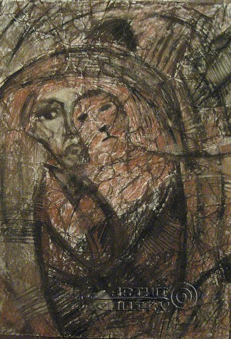 ''Бабушка Дон-Кихота ''.  Кривогорницын Андрей. Продажа картин, предметов декоративно-прикладного искусства