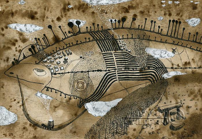 ''На распутье''.  Кривогорницын Андрей. Продажа картин, предметов декоративно-прикладного искусства