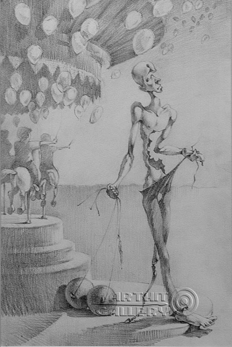 ''Карусель''.  Саргсян Артур. Продажа картин, предметов декоративно-прикладного искусства