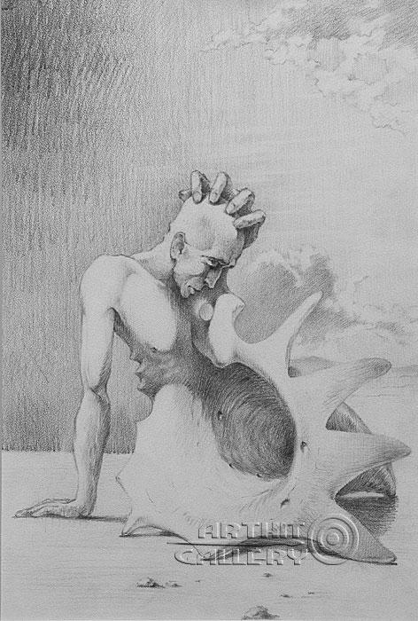 ''Ракушка''.  Саргсян Артур. Продажа картин, предметов декоративно-прикладного искусства
