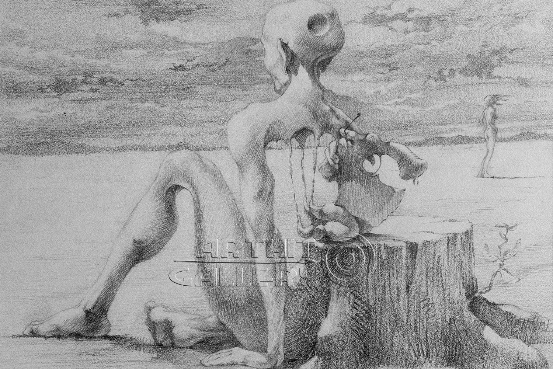 Free drawn erotic art