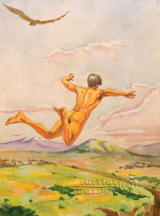 ''Взлет''.  Саргсян Артур. Продажа картин, предметов декоративно-прикладного искусства