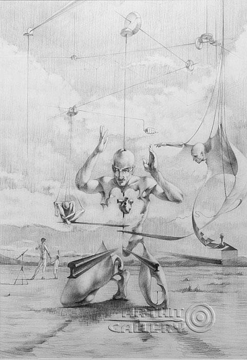 ''Пешка''.  Саргсян Артур. Продажа картин, предметов декоративно-прикладного искусства