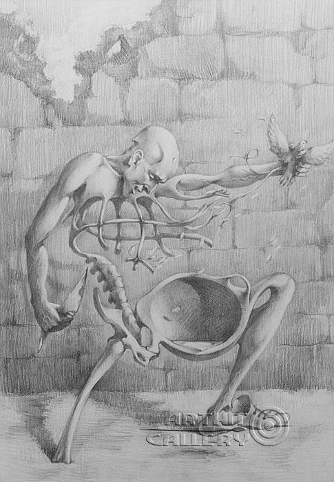 ''Стена''.  Саргсян Артур. Продажа картин, предметов декоративно-прикладного искусства
