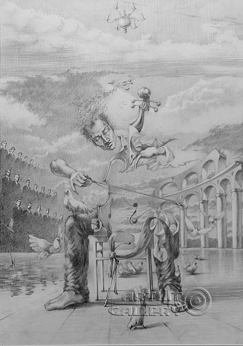 ''Концерт''.  Саргсян Артур. Продажа картин, предметов декоративно-прикладного искусства