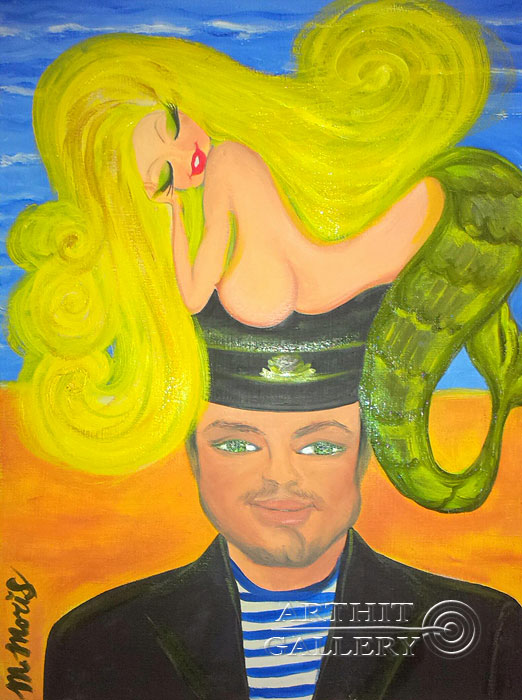 ''Любовь 2''.  Мариз Марина. Продажа картин, предметов декоративно-прикладного искусства