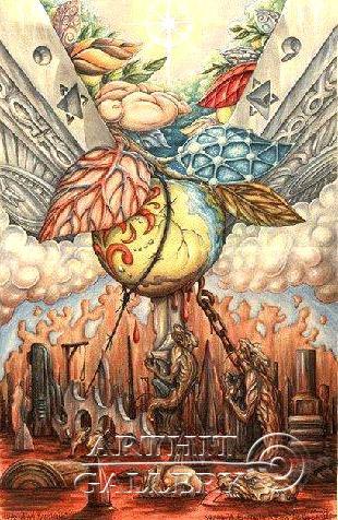 ''Истребители света''.  Гржибовский Глеб. Продажа картин, предметов декоративно-прикладного искусства