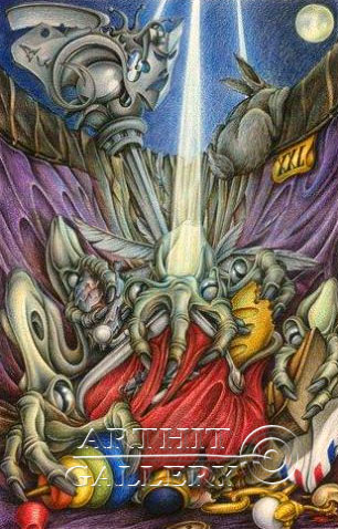 ''Карманные делишки ''.  Гржибовский Глеб. Продажа картин, предметов декоративно-прикладного искусства