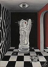 Картины сюрреализм. Масло, холст. Художник Дмитрий Хакимов. `Необратимость`