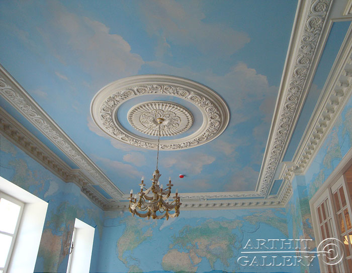 painting on ceilings 14 saprykina ksenia - Painting On Walls